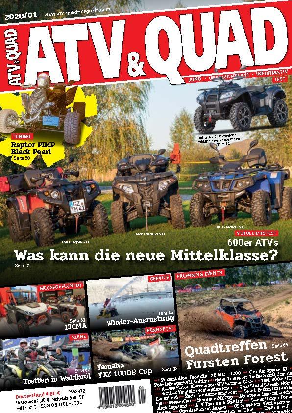 ATV & QUAD 2020/01 Crossland 600 Testbericht
