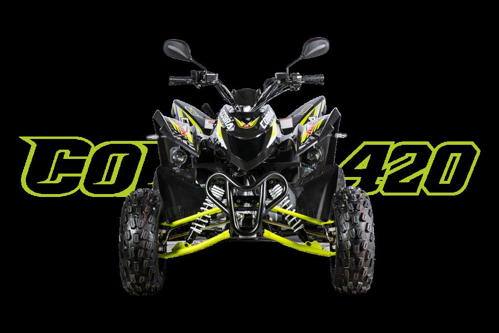 Cobra 420 Schwarz - Front