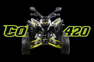 Cobra 420 SM Schwarz - Front