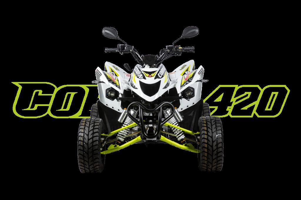 Cobra 420 SM Weiß - Front
